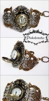 Locket wrist watch II by Pinkabsinthe