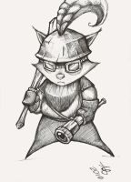 Captain Teemo by AlbertBruun