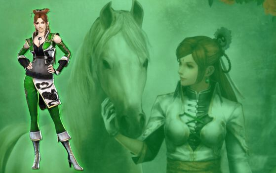 Dynasty Warriors - Yueying by Axel-Vampire