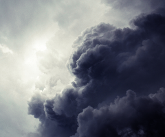 Clouds from hell by MateuszPisarski