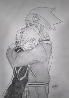 Maka and Soul by Ferchii