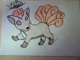 Vulpix by Hope2Fly