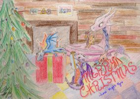 Christmas 2014 by nitefyredragon