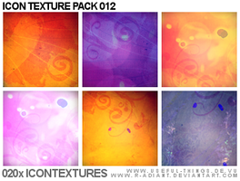Icon Texture Package 012 by r-adiant