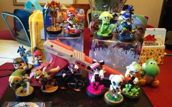 Jenz's amiibo Collection by chainchomp7
