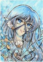 ACEO Sailor Alumina Seren by PaminaArtistry