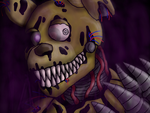Nightmare Springtrap by Forest-Nipple