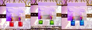 Zelda Potion Bottle Earrings by LiKovacs