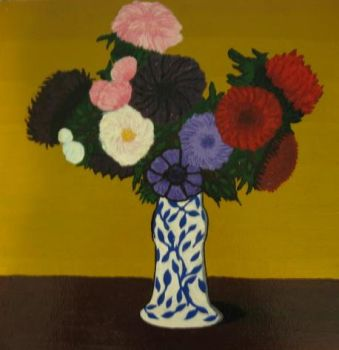Group of seven painting - flowers by CHRlSTOPHER