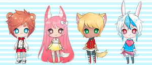 [closed] Adoptable Collab by naraie