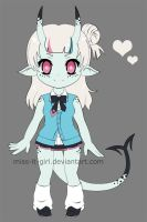 Demon Girl Adopt Auction (Closed) by Miss-It-Girl
