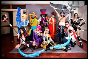 League of legends cosplay team by Rochisimo