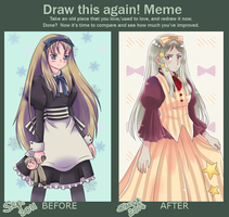 Draw this again! Meme by simply-lau