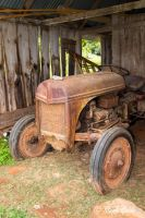 Old Rusty Tractor by StephGabler
