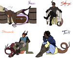 1232015 - Tieflings by CheshireCatGrin