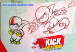 Kick Buttowski Hot paper by XSol-StudiosX