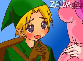 Link - Ocarina of Time Zelda by Helsic