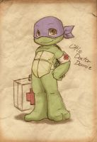 TMNT: Little Doctor by NamiAngel