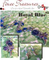 Royal Blue Set(sold) by FoxeeTreasures