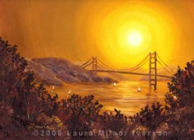 San Francisco Bay in Golden Gl by zenbreeze