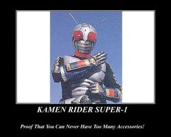 Proof of Kamen Rider Super-1 by NeonGenesisGuyverIII