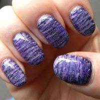 I'm A Fan of Purple Nail Art by quixii
