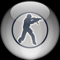 Silver Aqua Counterstrike Icon by rontz