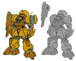 Zeon heavy Mobile Suit by Grebo-Guru