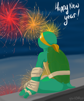 New Years 2014 by iquackkers