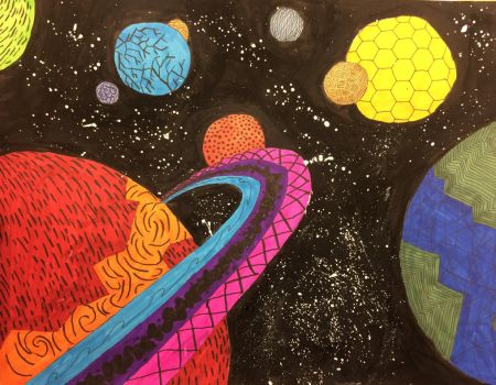 Exotic solar system. by CaptainComix