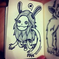 Masked Bunny by GalactikCaptain