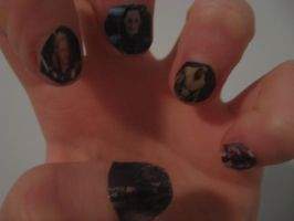 Avengers Nail Art 1 by LittleFlower23