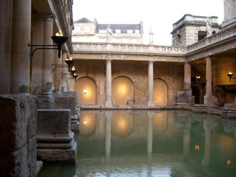Roman Baths take 2 by lars-bath