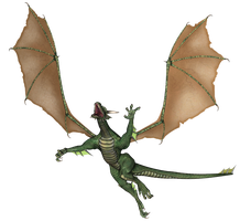 Free Stock:  Flying Dragon PNG by ArtReferenceSource