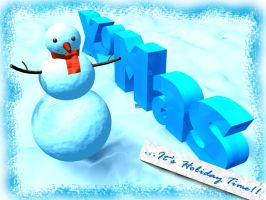 CHRISTMAS SNOWMAN02 by kevinandy