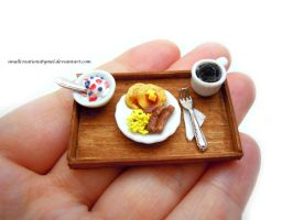 Breakfast Tray by SmallCreationsByMel