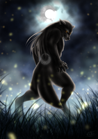 The Werewolf by EjLowell