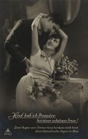 vintage romantic couple II by MementoMori-stock