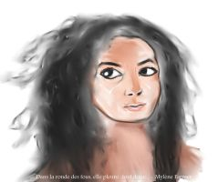 Woman Face Study N48 by lv888