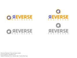 Reverse Engineers Logo- draft by saisao