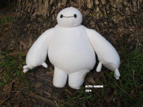 Baymax Plush by bigtimetransfan27