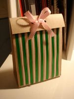 green and pink giftbag by lain56