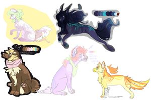 Old designs ALL 7 USD by DekuMUTT