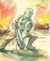 Atomic Robo by Infinity-Joe
