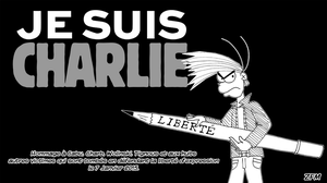 Je suis Charlie by ZeFrenchM