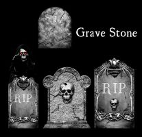 Grave Stone by gri3v3r-stock