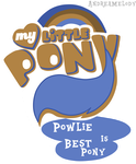 (Request)MLP:FIM Logo Powlie Version by AndreaSemiramis