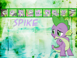 Spike Wallpaper by phasingirl