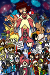 Gurren Nuzlocke - Marche-Towers by Marche-Towers