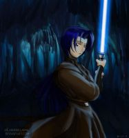 Rusyna, Jedi Apprentice by Snowbacon